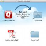 quicken essentials install