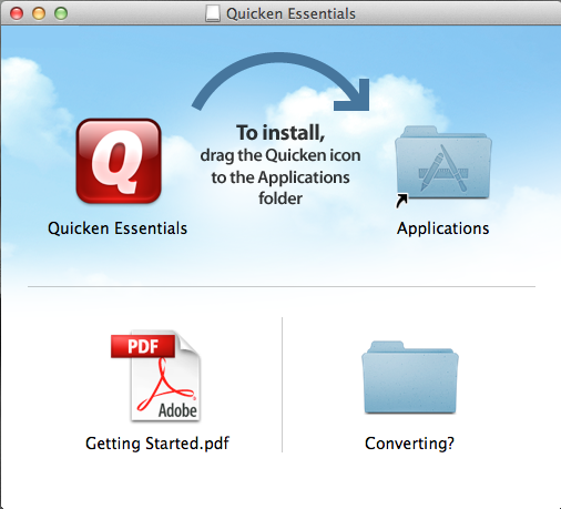 quicken essentials install