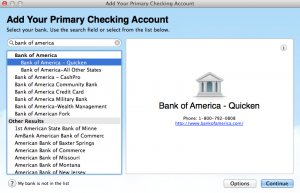 quicken essentials accounts