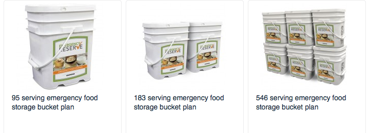 Food Insurance Long Term Storage